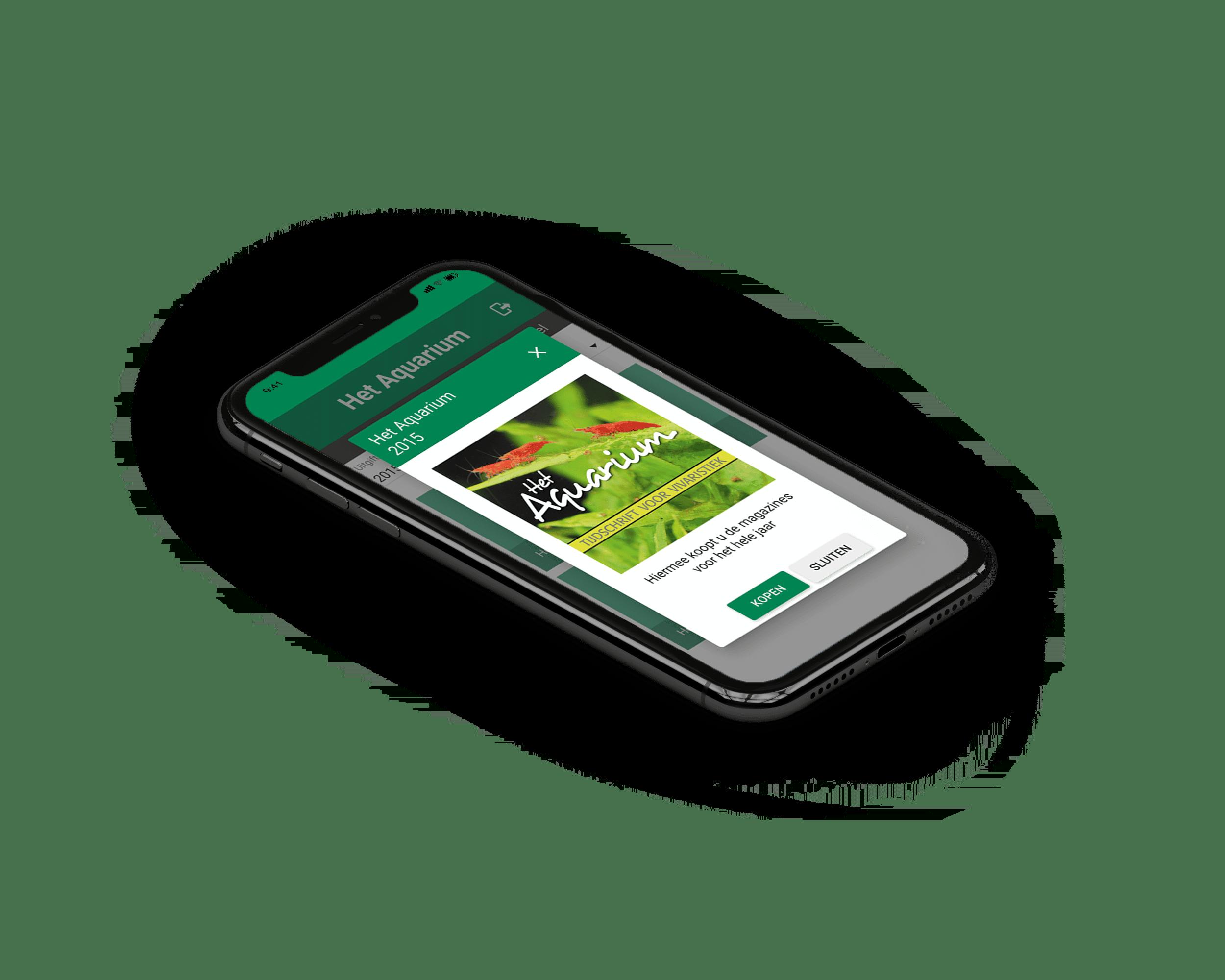 magazine app laten ontwikkelen ios en android