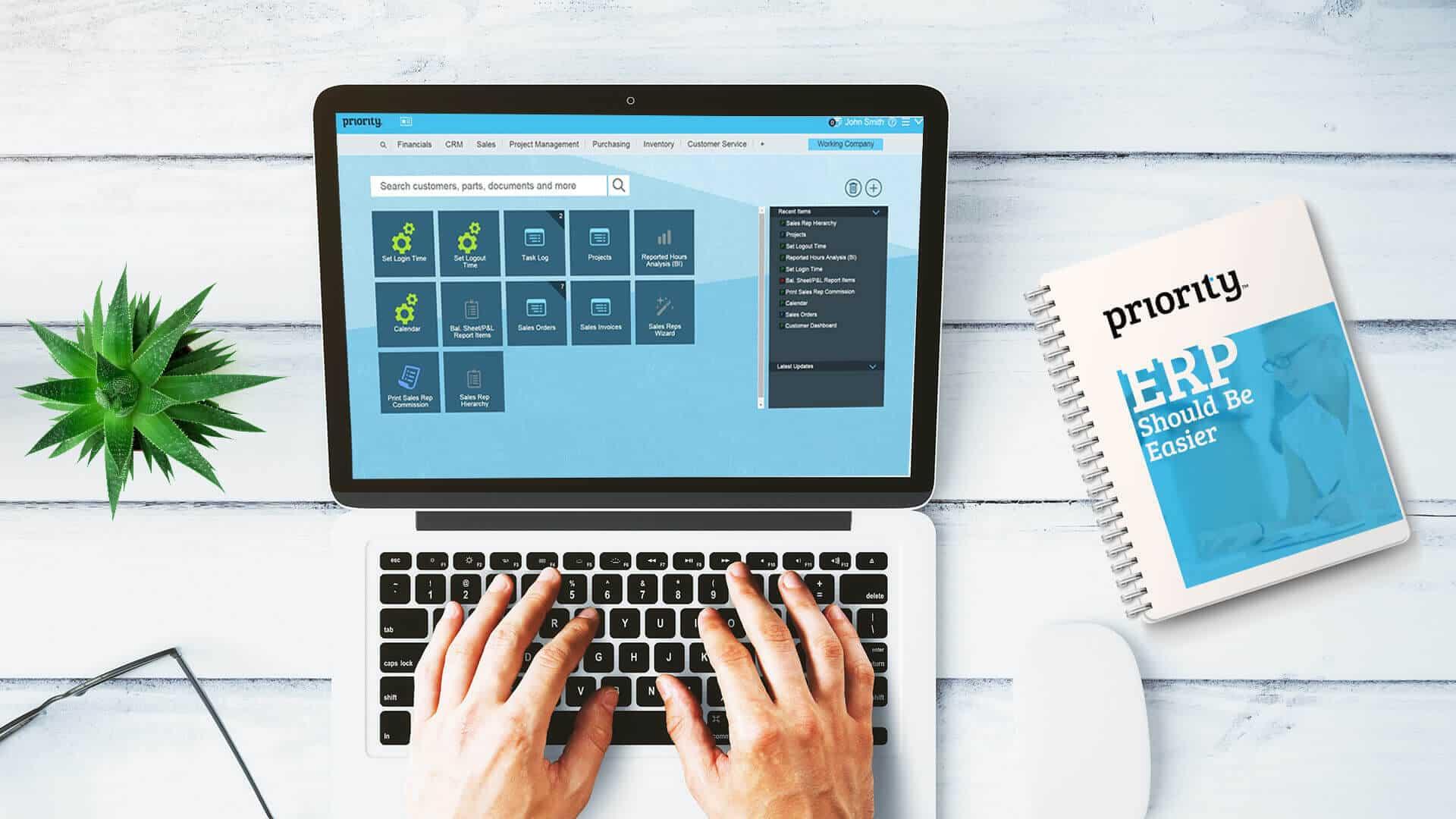 Priority ERP software pakket