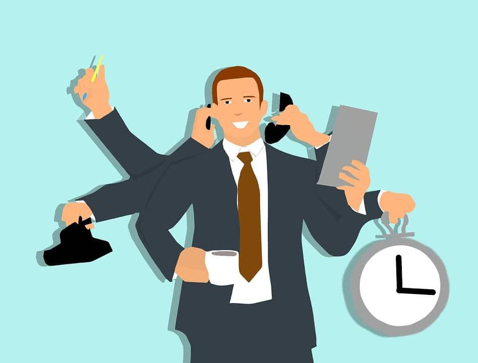 customer support multitasking