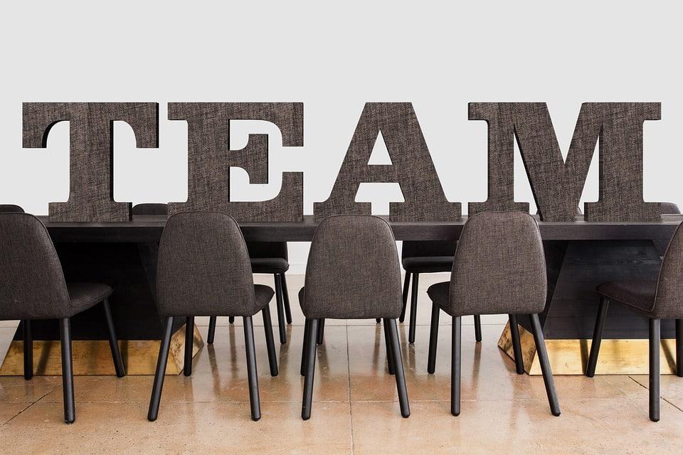 team effort om te veranderen binnen organisaties