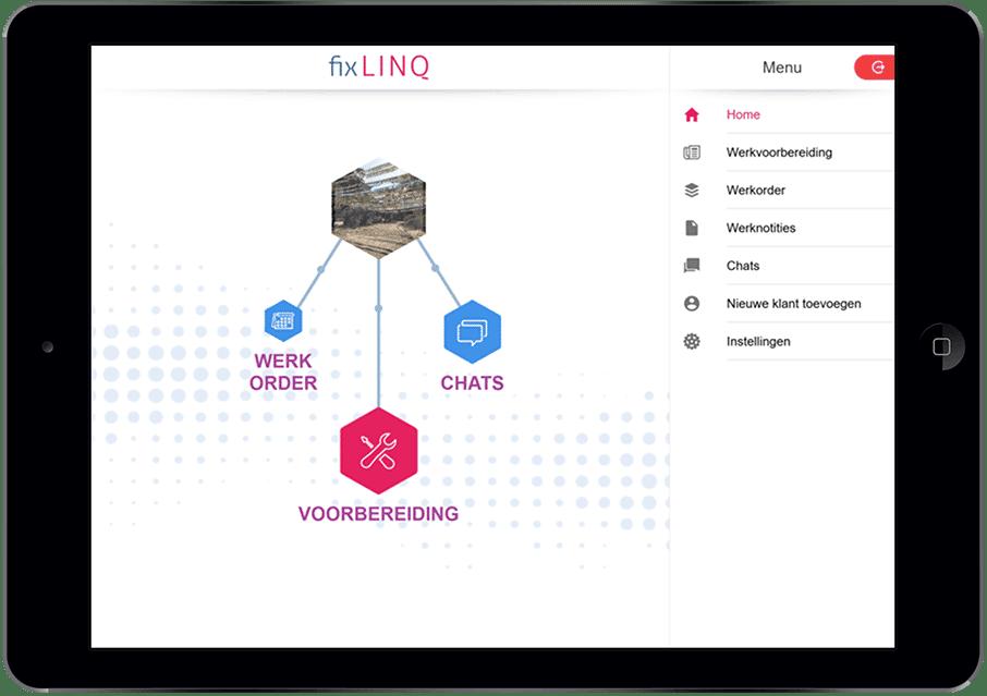 fixlinq-ipad-app