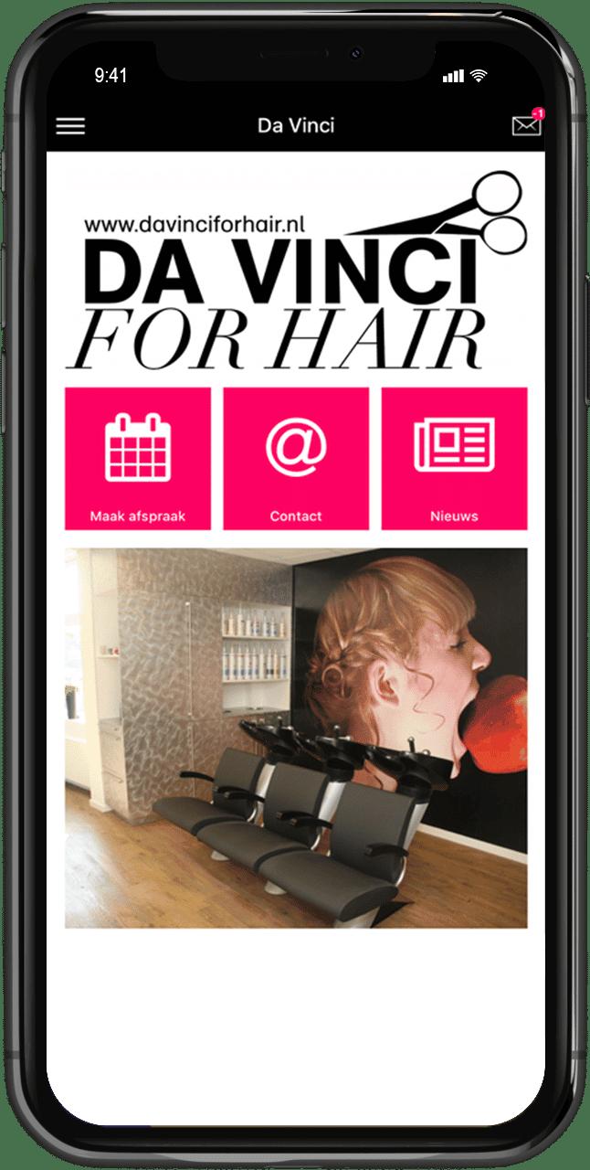 handige kappers app voor salons
