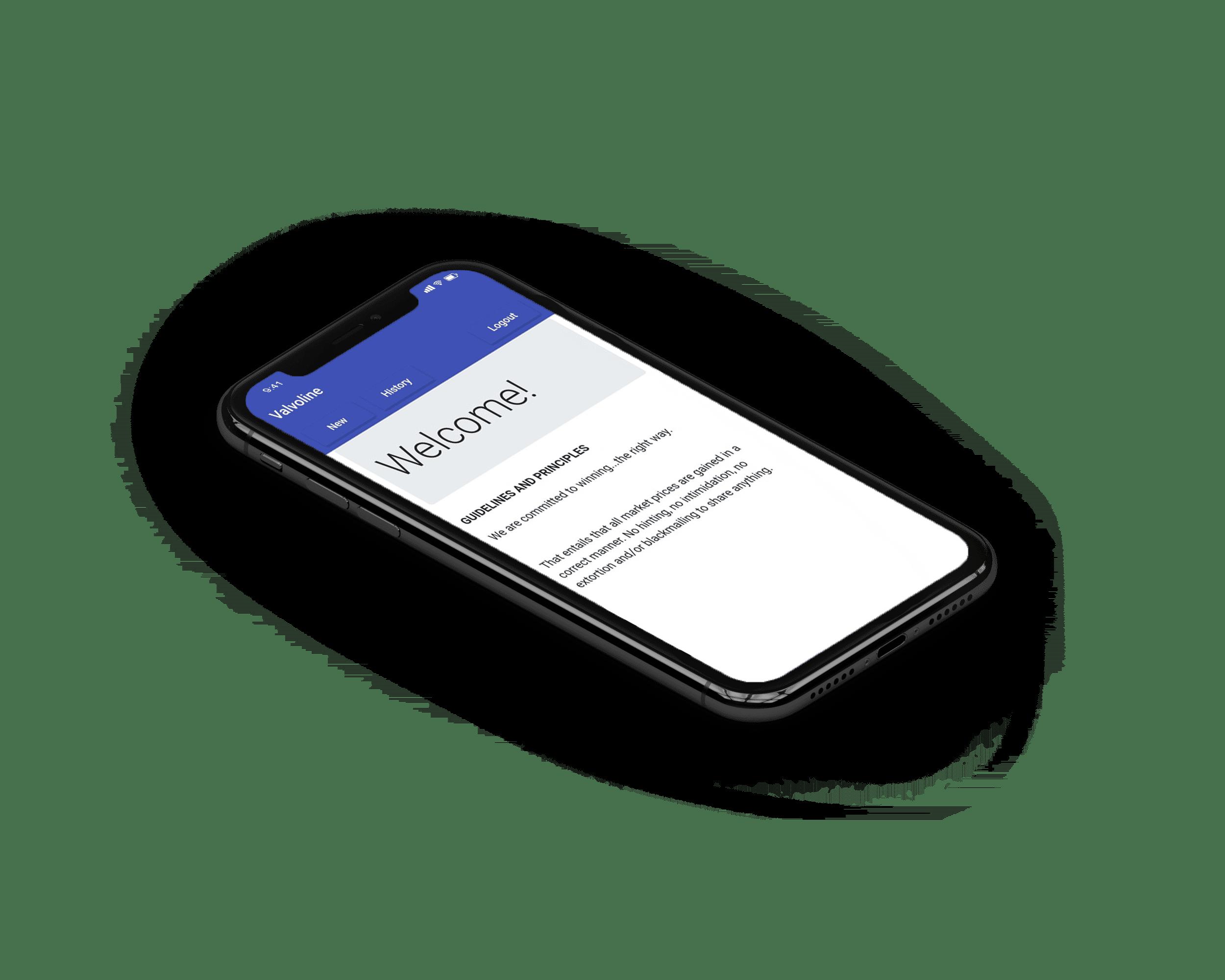 mobiele formulieren app voor ios en android
