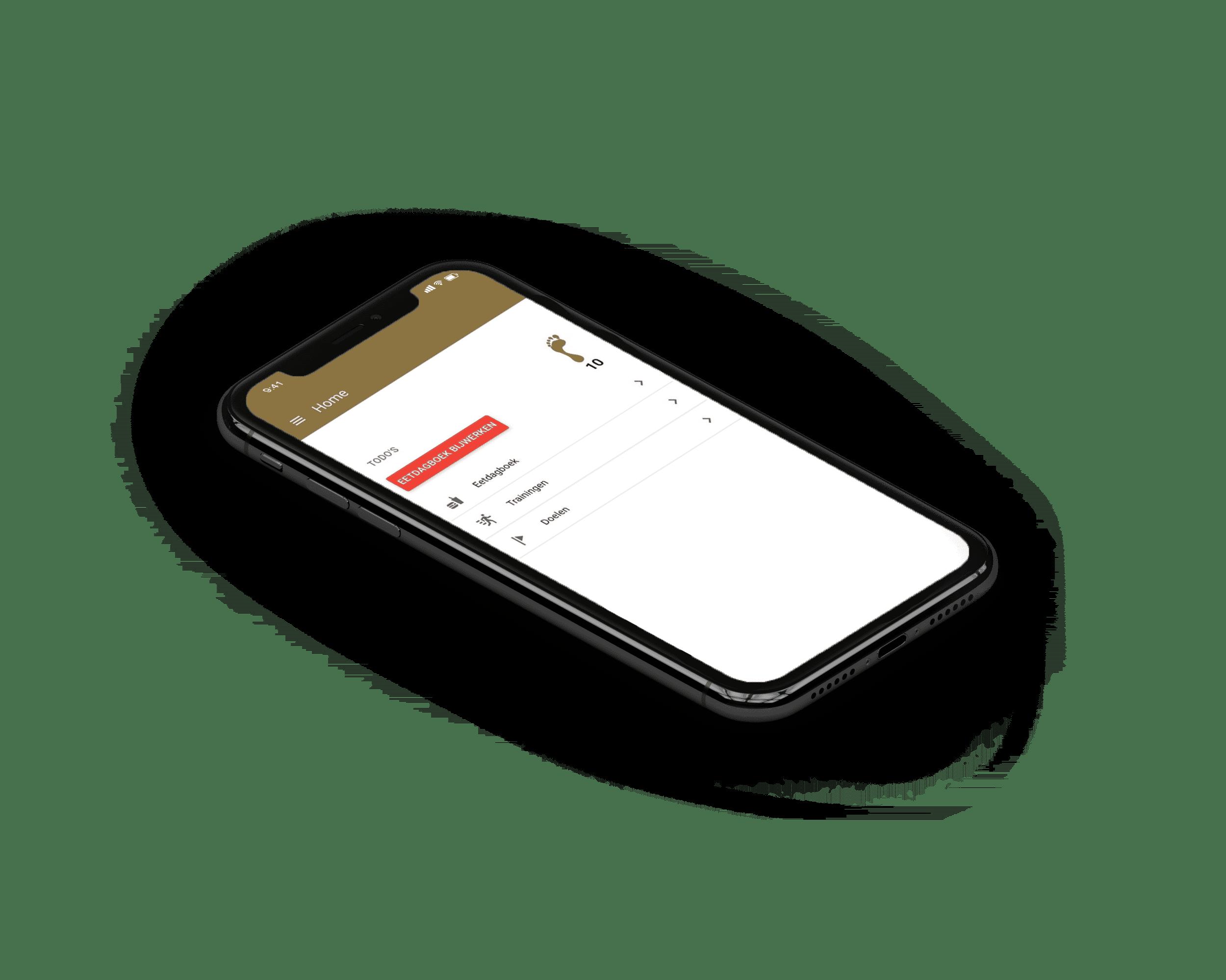 personal trainer mobiele app laten maken