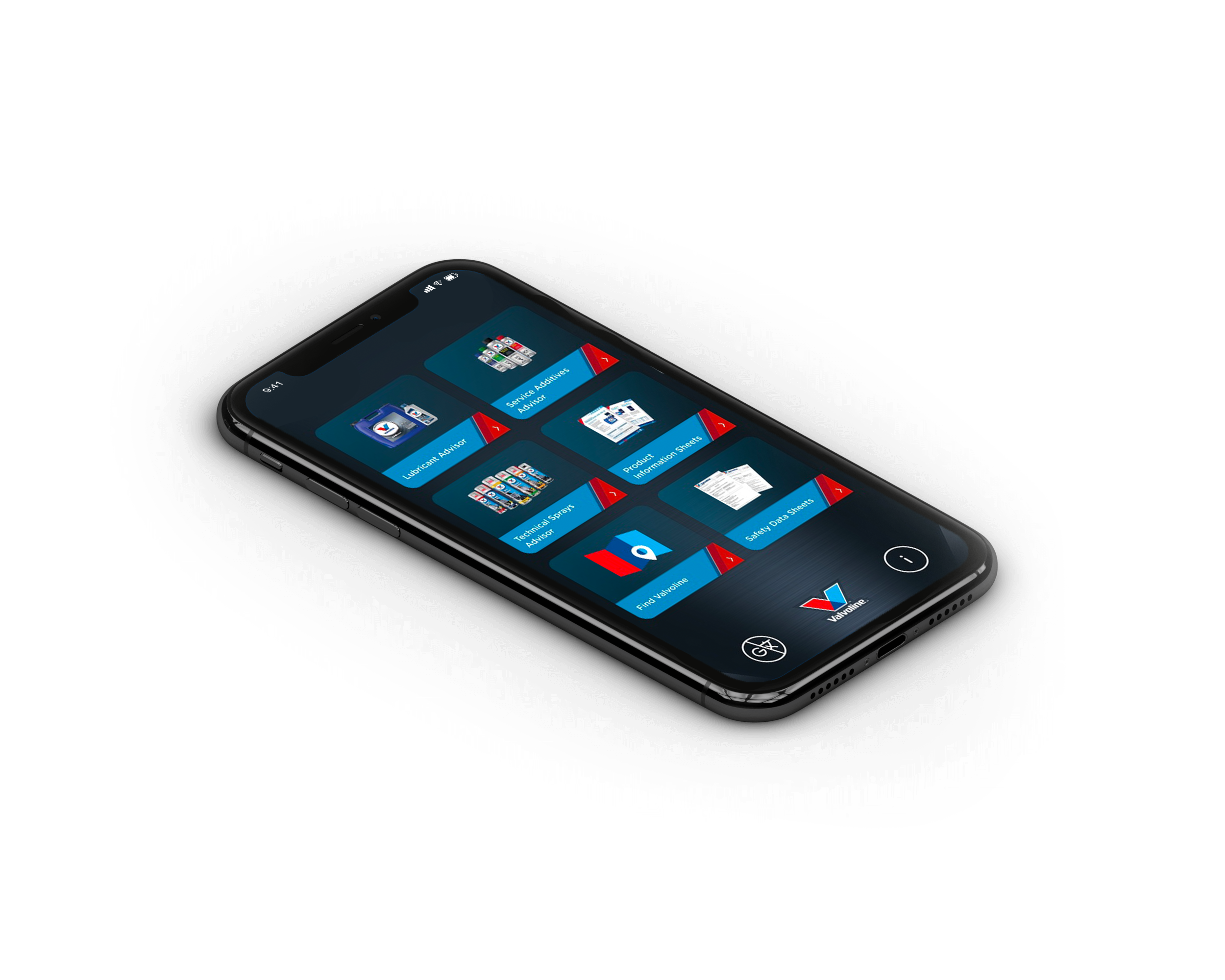 valvoline product advisor app