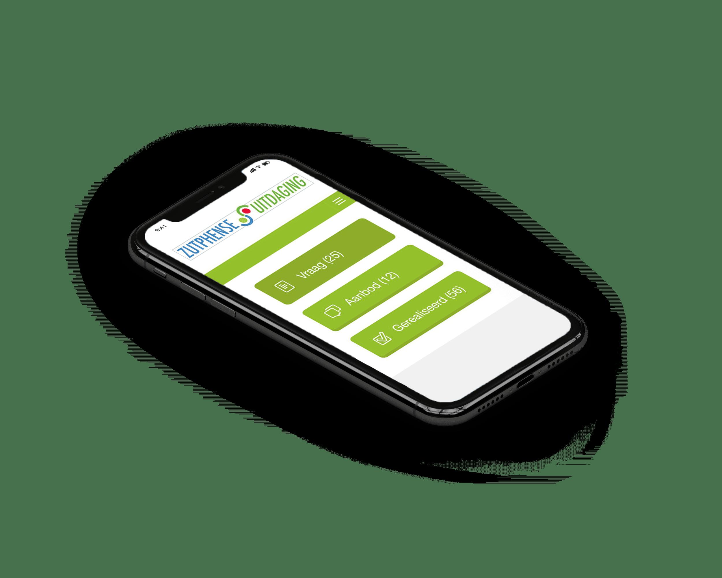 wordpress app koppeling tussen mobiel en cms