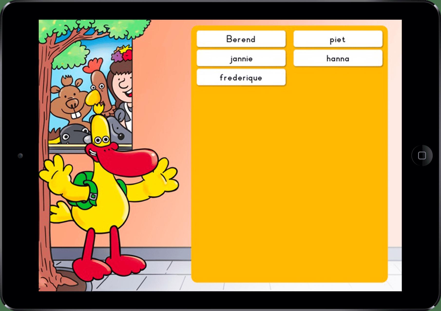 school tablet apps ontwikkelen voor basis en middelbaar onderwijs