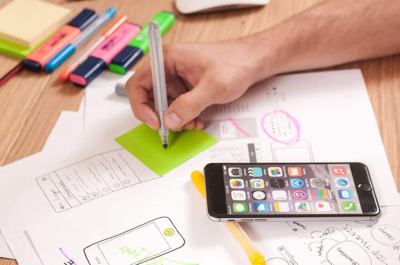 ios en android app design