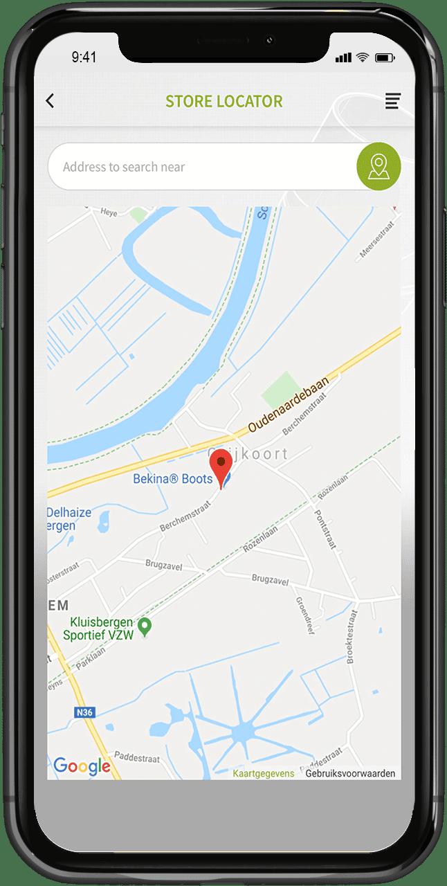 store locator app