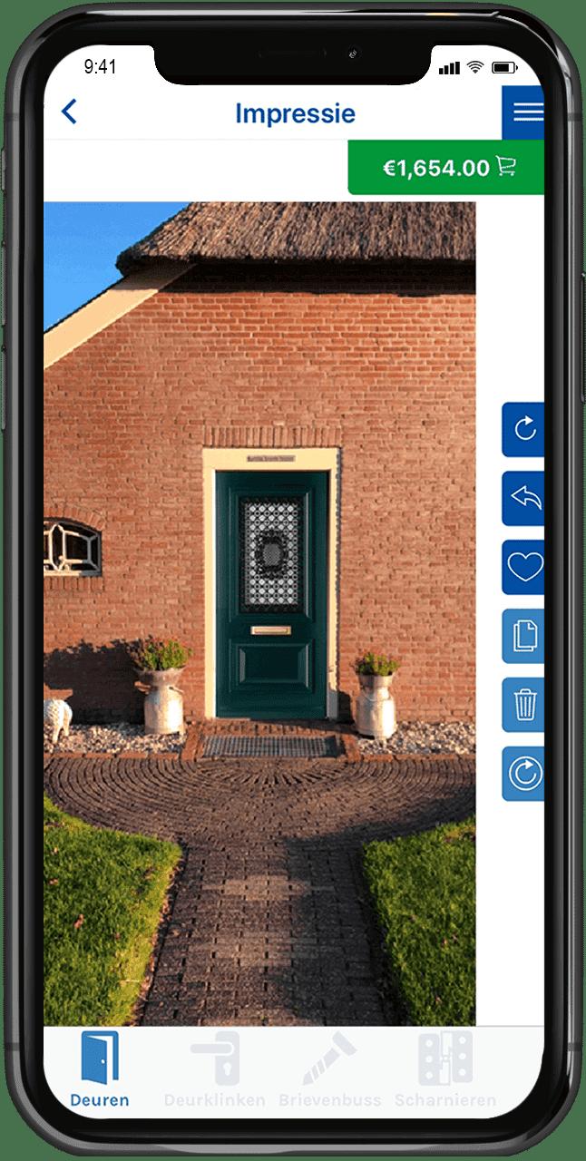 app voor deuren