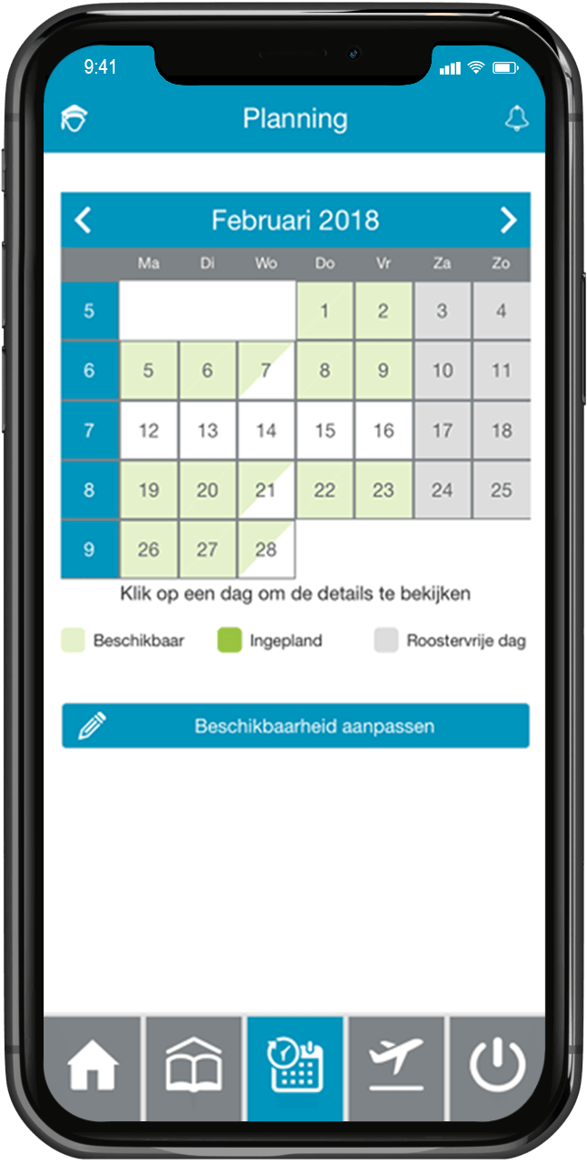 pool management via app