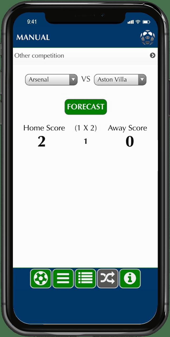 socces forecast app