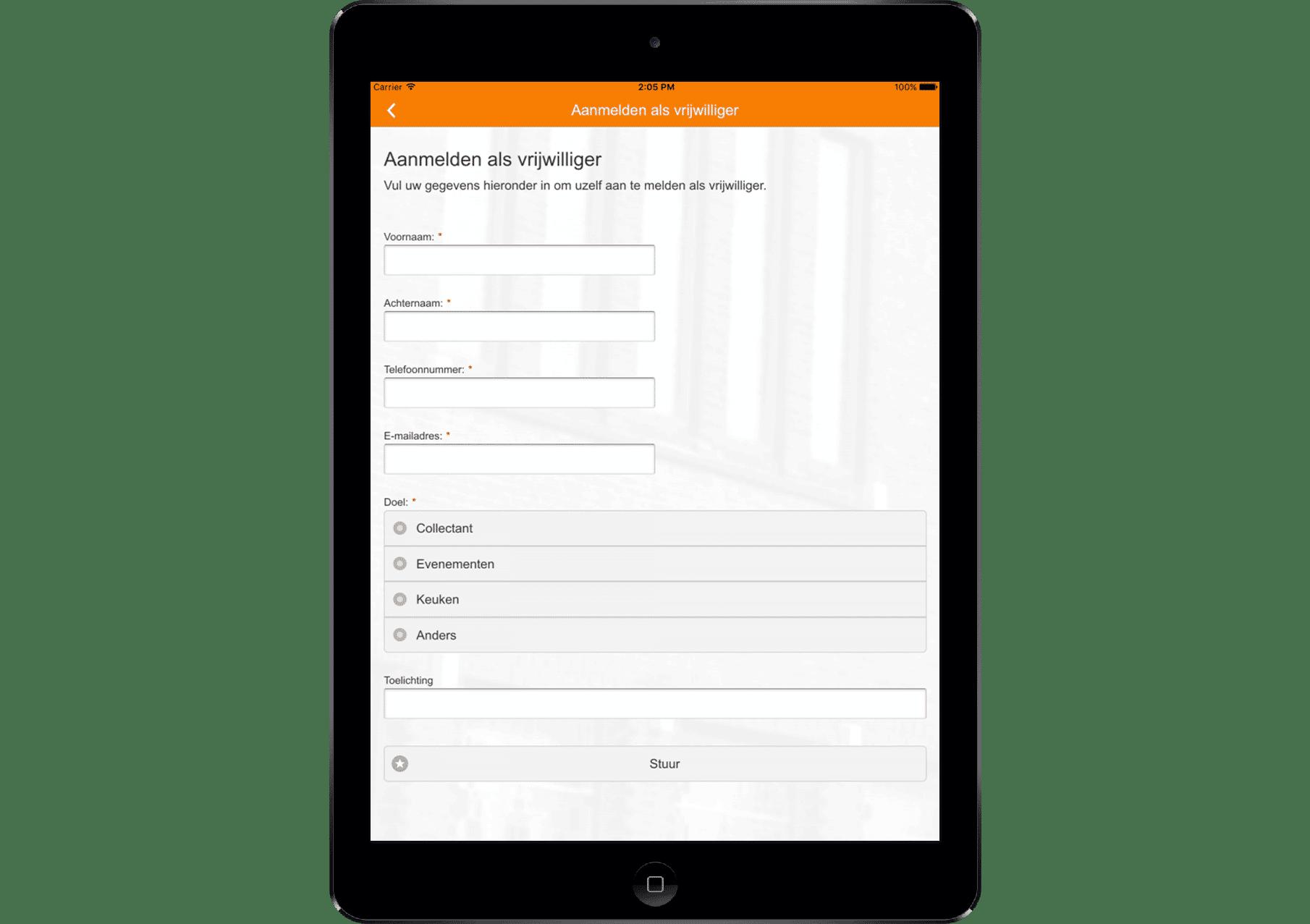 tablet-kerk app