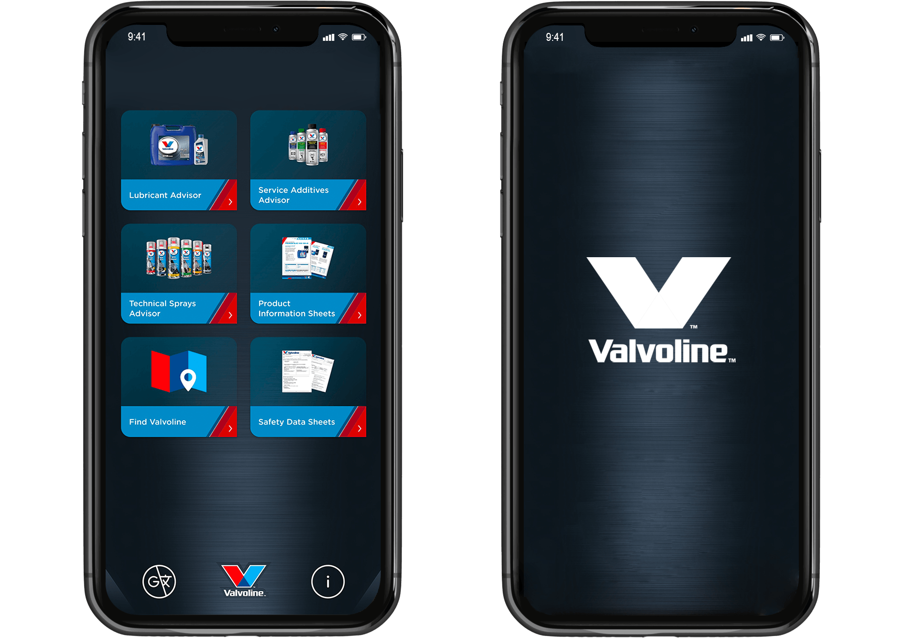 valvoline mobile application