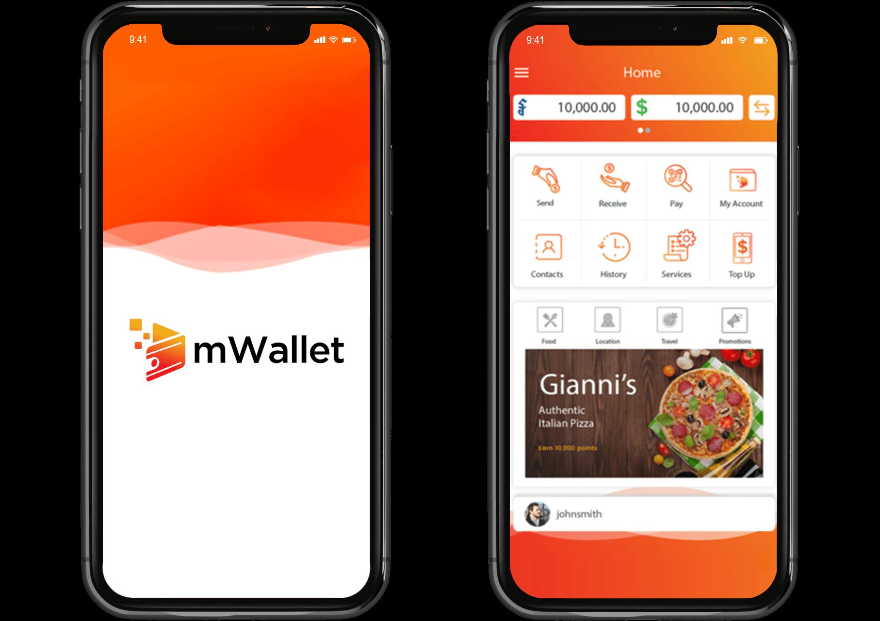 mwallet app by proximaxx