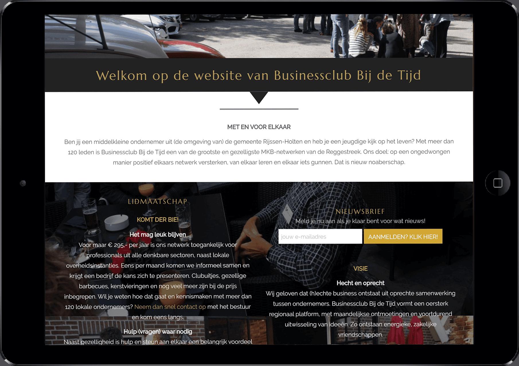zakelijke business applicatie