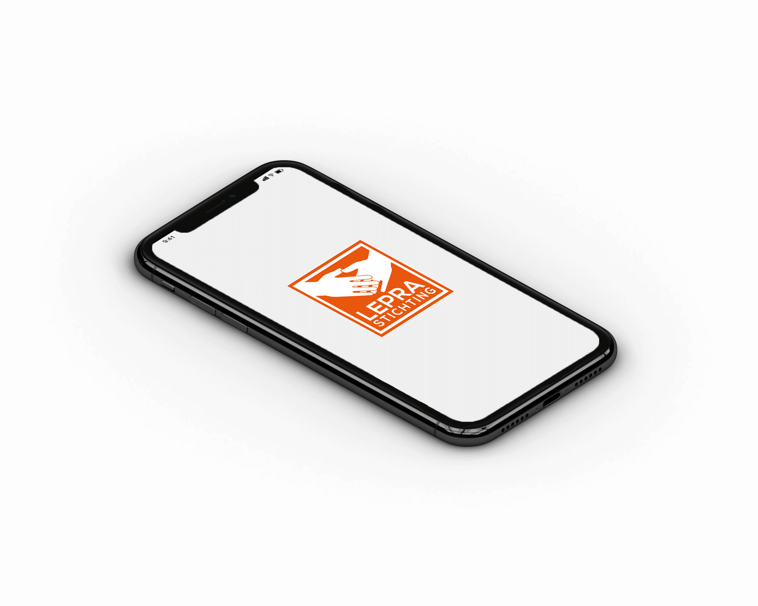 mobiele skin app voor lepra stichting