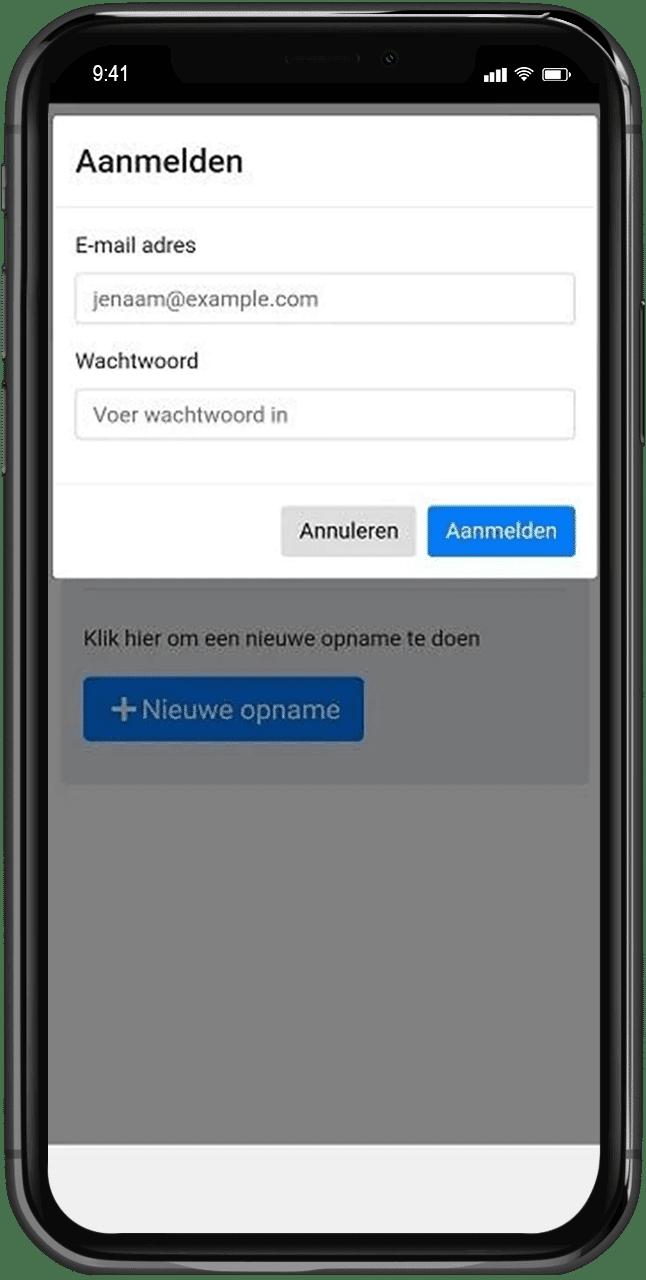 Hooikammer Automotive app