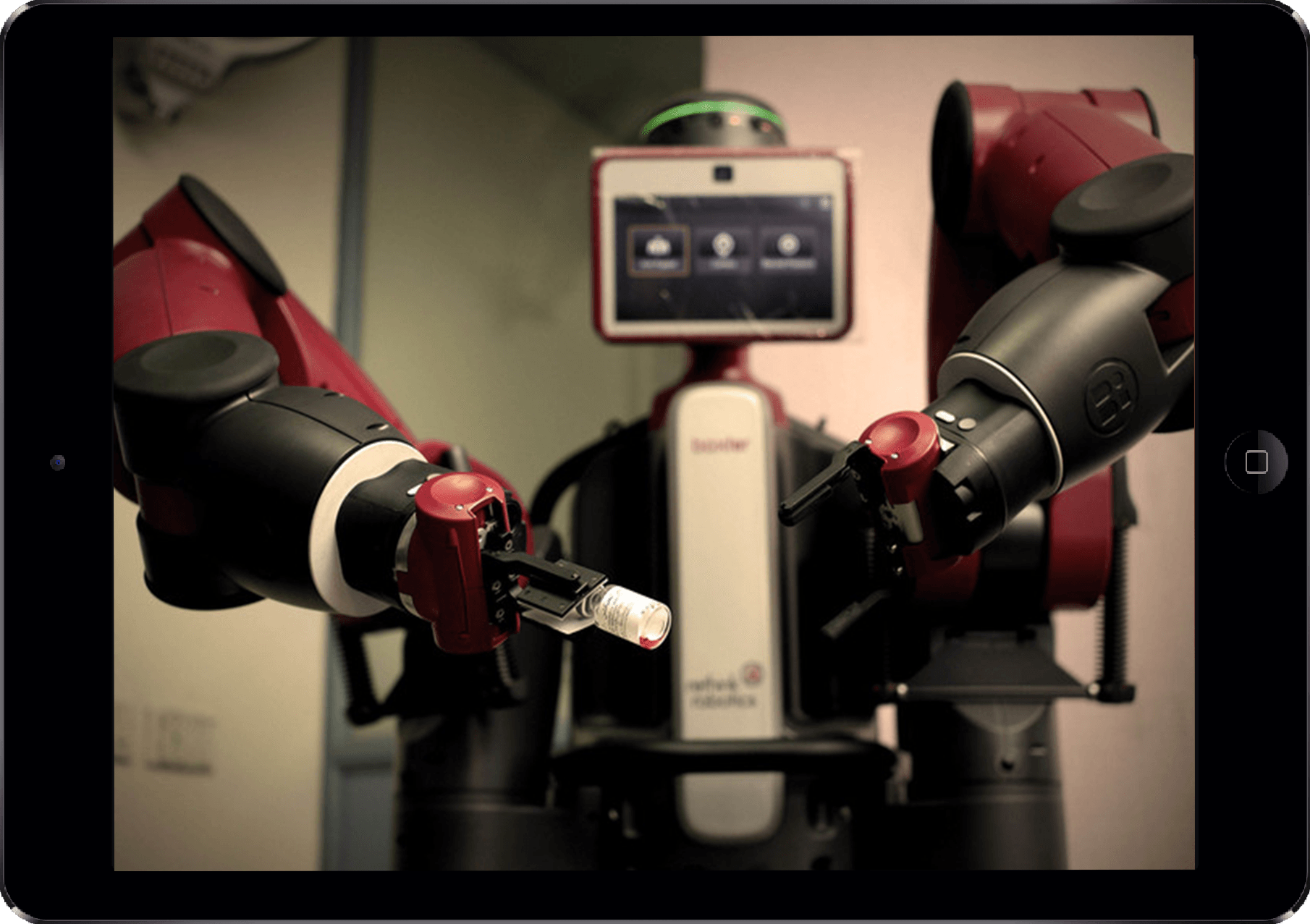 baxter robot software