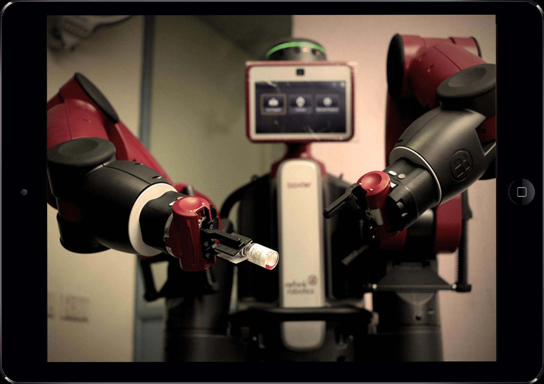 baxter robot software