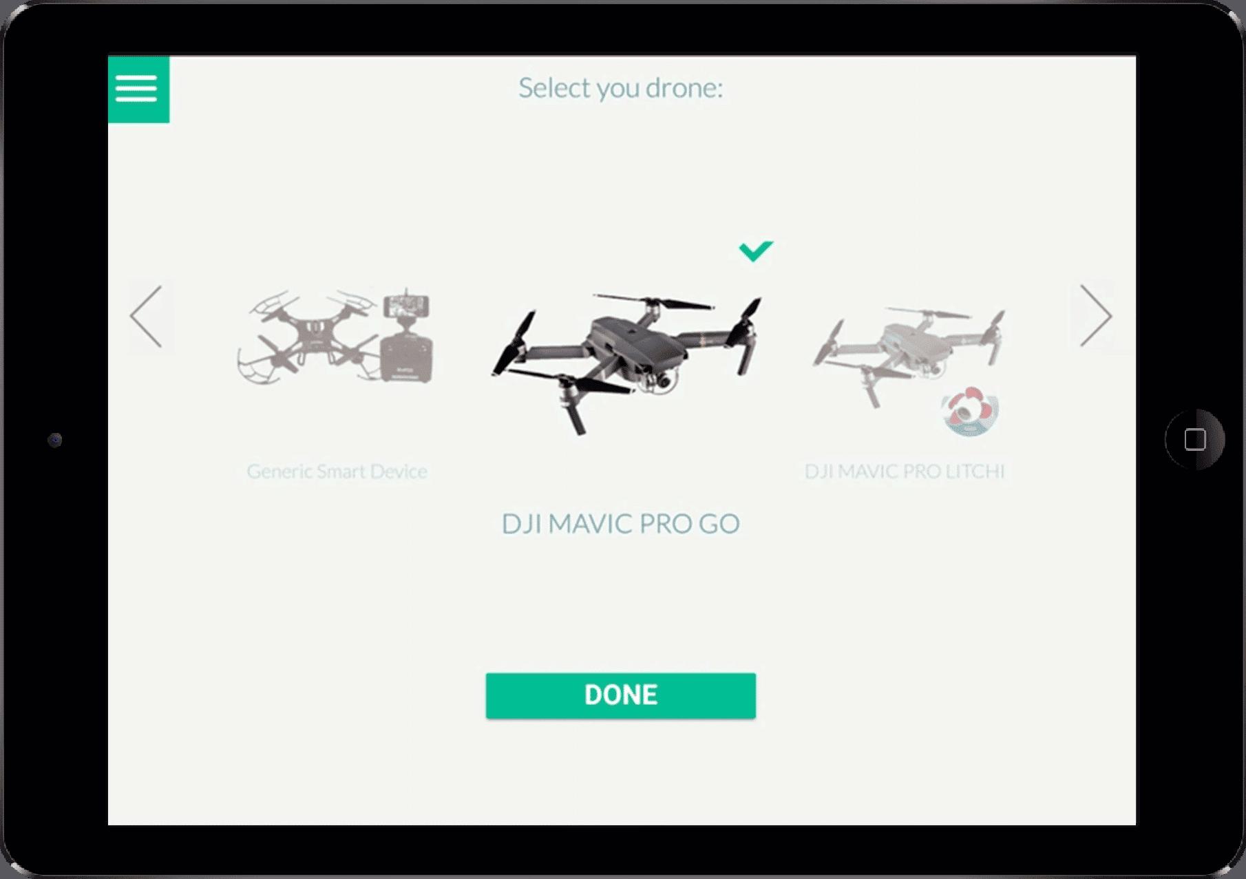 drone co pilot tablet app