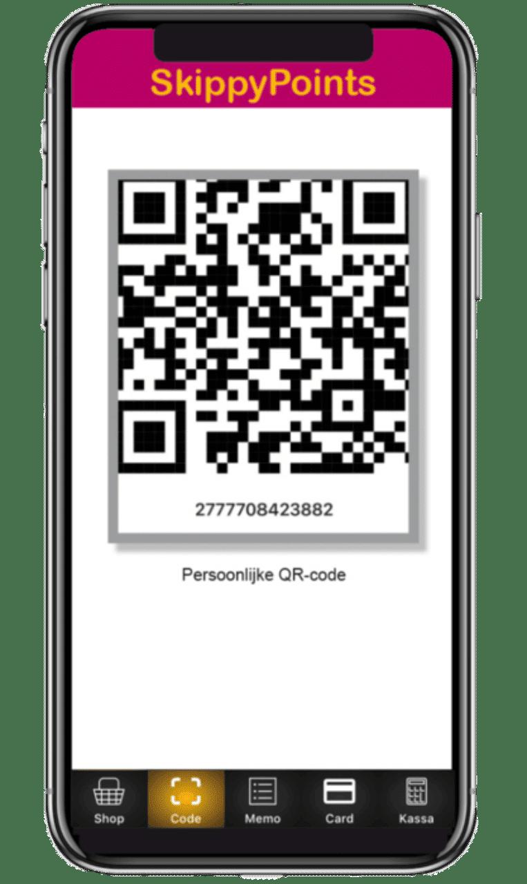 skippy points mobiele app