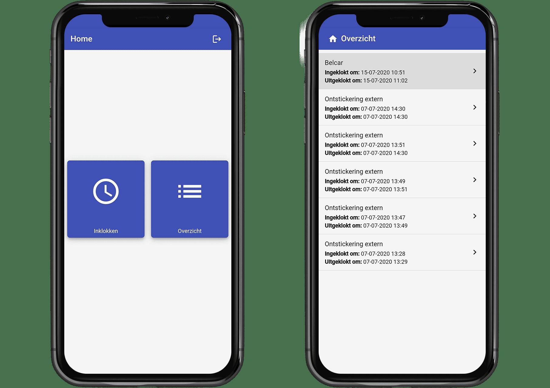 carts werkbon app 3