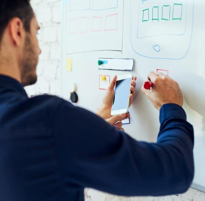 design applicatie ontwikkeling