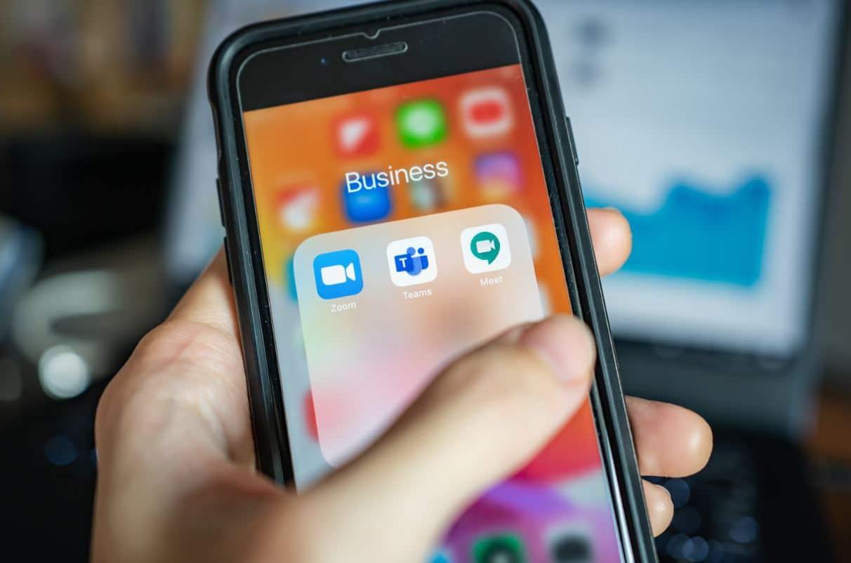 business apps op smartphone