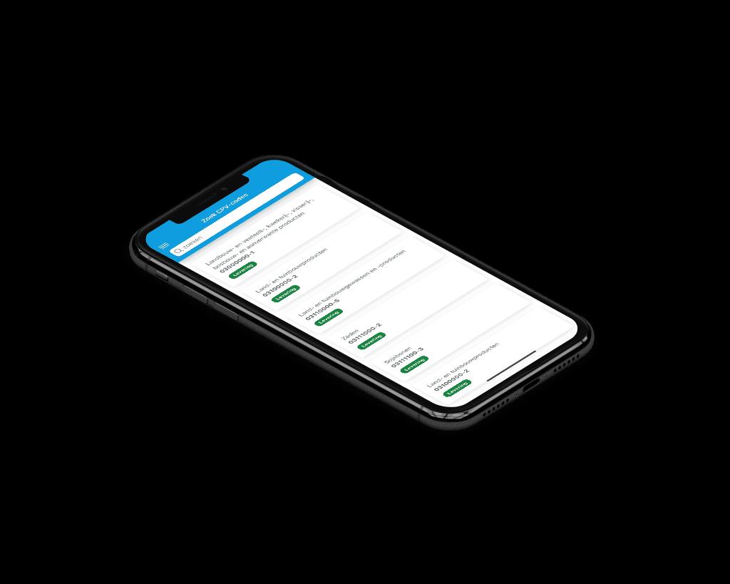 pro 10 app aanbesteding